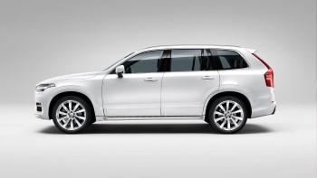 2016 Volvo XC90 White Profile (Custom)