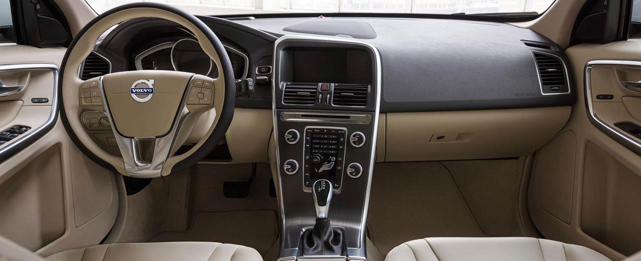 Interior Of The 2017 Volvo Xc60 Delivers Refined Luxury