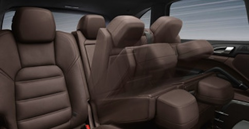 2016 Porsche Cayenne seating