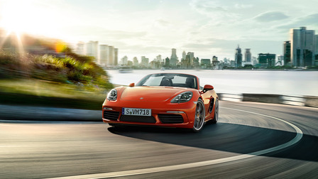 2017 Porsche 718 Boxster S performance