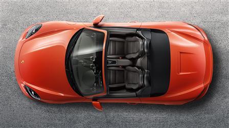 2017 Porsche 718 Boxster S exterior