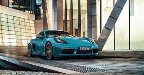 Porsche 718 Cayman in Los Angeles