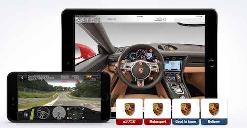 Porsche apps available in 2017 Porsche models at Porsche Riverside