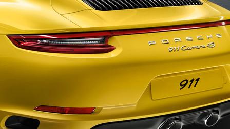 2017 Porsche 911 Carrera 4S rear exterior
