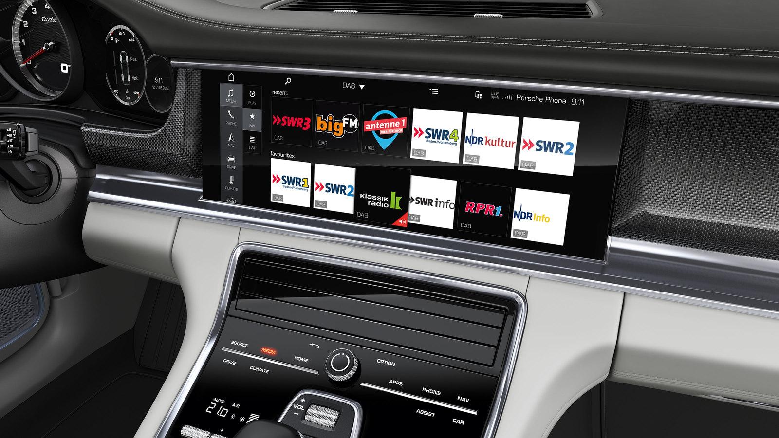 tech features in the 2017 Porsche Panamera