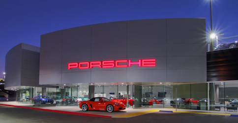 Porsche Riverside in Los Angeles